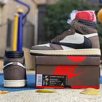 "Travis Scott x Air Jordan 1 Retro High OG TS SP ""Mocha"" 
