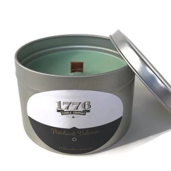 1776 Candle Company - Soy Scented Candle Patchouli Valensia