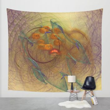 Little Dumbbell Nebula Wall Tapestry by Virtualkee | Society6