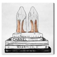 Oliver Gal Standalone Shoes Canvas Wall Art | Nordstrom
