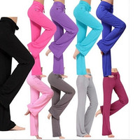 Women Soft Comfy Yoga Sweat Lounge Gym Sports Athletic Pants Leggings S-XXL = 5660425793