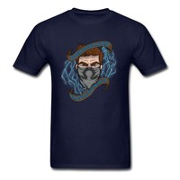 Official Masked Gamer Men's Tee T-Shirt | Official Ohmwrecker - The Masked Gamer Merch!