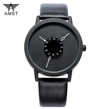 New Arrival Watch Men Brand Fashion Casual Waterproof 30M Leather Watch band Quartz-Watch Relogio Masculino 2016 Montre Homme