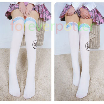 Anime Gintama Tights Women Cute Soul Silver Cosplay Pantyhose Girls Gifts