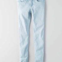 AEO Denim X Super Low Jegging, Light Blue