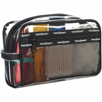 Travel Smart Transparent Sundry Pouch And Cosmetic Bag (pack of 1 Ea)