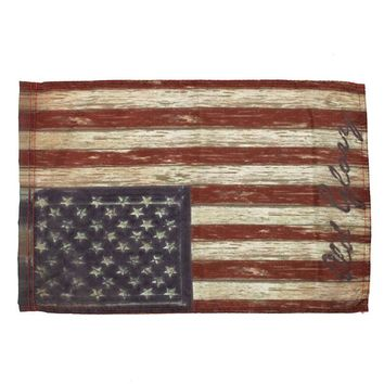 "NEW!!!12.5"" x 18"" Stripes Old Patriotic Garden House Vintage USA American Flag Home Room Decor"