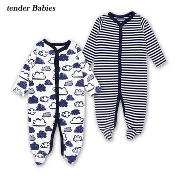 534bd87fd 2018 Newborn Infant Baby Rompers Spring Autumn Baby Clothing Lon