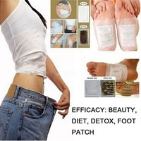 4PCs Detox Foot Pads Remove Body Toxins Weight Loss Stress Relief Lose weight Slim [9305841287]
