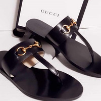 Gucci men and women Slipper