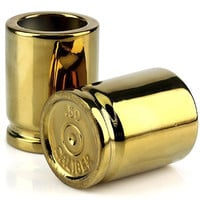 Caliber Gourmet 50 Caliber Shot Glasses