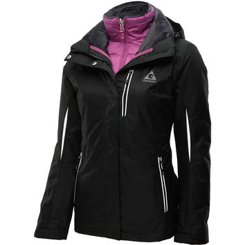 GERRY Women's Anne 3-in-1 System Winter Jacket