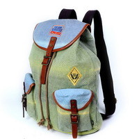 Urban gradient backpack boys | girls school bags unisex from Vintage rugged canvas bags