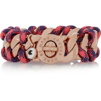 Marc by Marc Jacobs - Corded Katie rose gold-tone bracelet