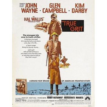 True Grit Poster//True Grit Movie Poster//Movie Poster//Poster Reprint