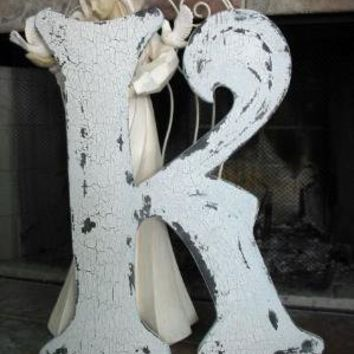 BEST 2 ft tall LETTER K Vintage Style Cut by thebackporchshoppe