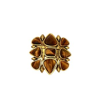 House of Harlow 1960 Jewelry Kaleidoscope Fingerpick Ring