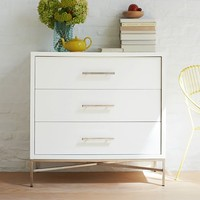 City Storage 3-Drawer Dresser - White