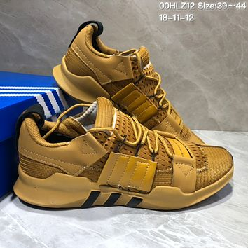 kuyou A356 Adidas EQT-7 Climacool Mesh Running Shoes Yellow