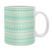 Allyson Johnson Mint Tribal Coffee Mug
