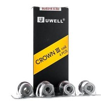 Uwell Crown 3 Coils 0.25/0.5ohm (4 Pc)