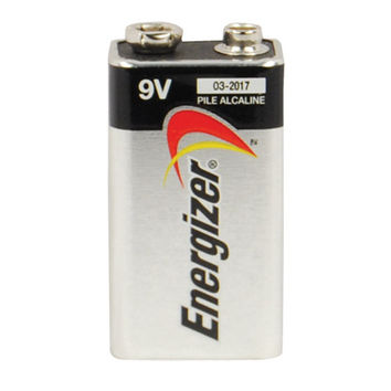 9-Volt Energizer Eveready Alkaline Battery