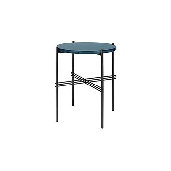 GUBI TS 40 Side Table - Black Base - by GamFratesi