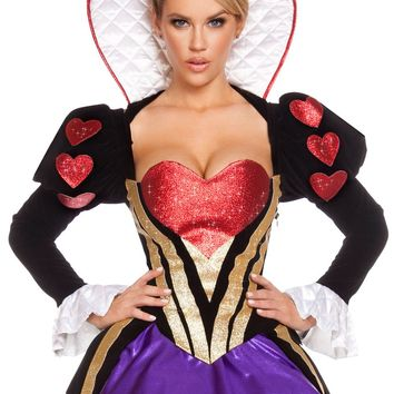 Sultry Heartless Queen Costume