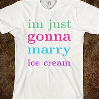 married to ice cream - Keep Calm & Be a Mermaid
