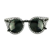 Black Ridge Cat Eye Sunglasses