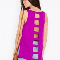 Aster Cutout Top  in  What's New at Nasty Gal