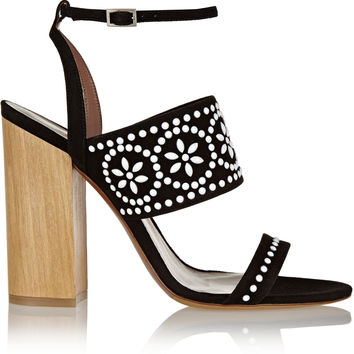 Tabitha Simmons - Blaze embellished suede sandals