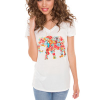 Hippy Elephant Top