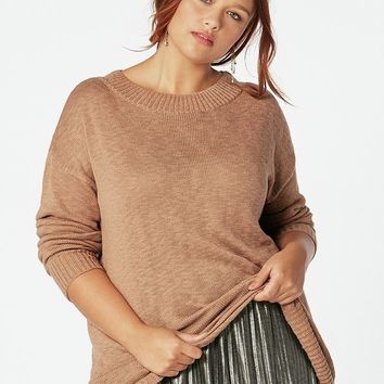 Wide Boatneck Sweater