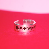 Custom Aluminum Adjustable Mortal Instruments Ring