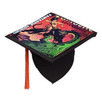 Queen of the Panther World Graduation Cap Topper