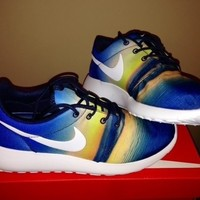 Nike Roshe Run Santa Monica Beach Sunset Sunrise 511881-415 READY TO SHIP NOW DS