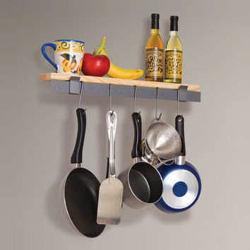 Enclume Wall Bar and Bamboo Shelf - World Market