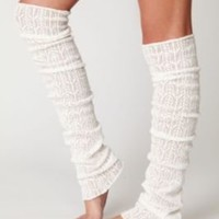 Free People Pointelle Legwarmer at Free People Clothing Boutique