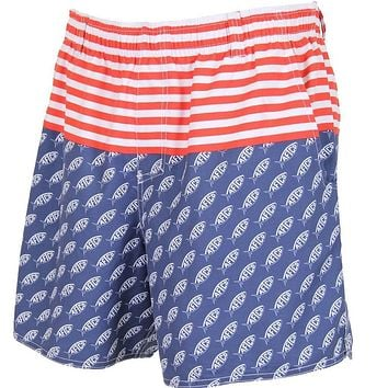 Captain Swim Trunks in Midnight by AFTCO