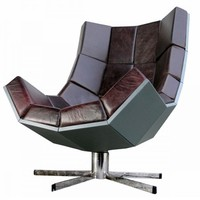 Luxury Leather Chair - Opulentitems.com