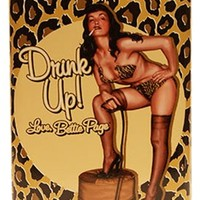 Bettie Page™ Leopard Flask