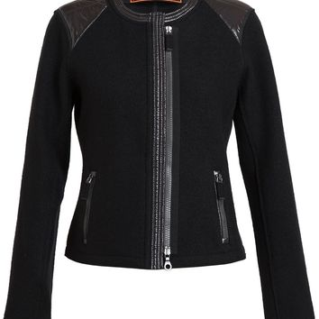 Frauenschuh Mavie Boiled Wool And Nylon Box Jacket