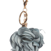 Flower Key Chain Blue