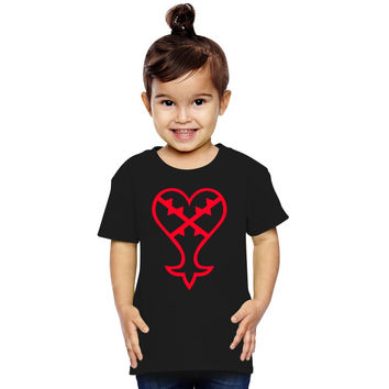 Heartless Logo (Red) - Kingdom Hearts Toddler T-shirt