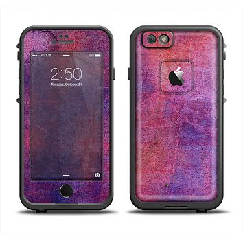 The Pink & Blue Grungy Surface Texture Apple iPhone 6 LifeProof Fre Case Skin Set