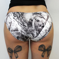 Luckless Clothing Co | Snow Strap Hipster Bottoms