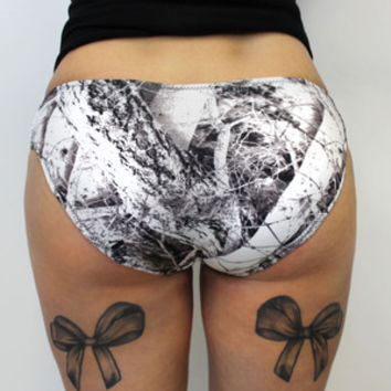 Luckless Clothing Co   Snow Strap Hipster Bottoms