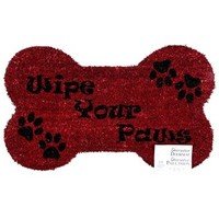 Red Wipe Your Paws Rug | Shop Hobby Lobby