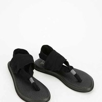 Sanuk Yoga Sling 2-Way Stretch Sandal- Black